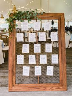 A Backyard Vermont Wedding with Homemade Maple Syrup Favors A Backyard Vermont Wedding with Homemade Maple Syrup Favors Rustic wedding seating plan STEP-BY-STE Rustic Seating Charts, Rustic Wedding Seating, Seating Chart Wedding, Table Seating Chart, Wedding Table Assignments, Wedding Table Numbers, Wedding Table Plans, Rustic Table Numbers, Wedding Tables
