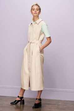 Pause Dress, Natural Minimal Chic, Sustainable Fashion, Collar Dress, Dream  Closets, 38c8e6516ba