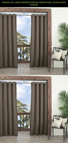 Parasol Key Largo Indoor/Outdoor Curtain Panel, 52 by 84-Inch, Caramel #drone #curtains #shopping #racing #tech #outdoor #parts #technology #plans #products #gadgets #decor #fpv #camera #kit