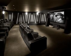 Matrka Inc Traditional Media Room Other Metros By Michael