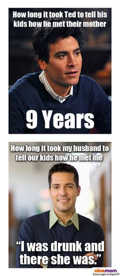 Our husbands and Ted from How I Met Your Mother are TOTALLY different. #TV