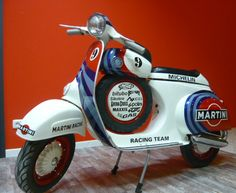 Vespa Smallframe Vespa SS 50ccm Replica Martini Racing