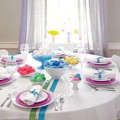 Apparecchiare e decorare la tavola di PASQUA | ieri & oggi in cucina
