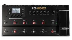 $440 Amazon.com: Line 6 POD HD500X Guitar Floor Multi-Effects Pedal: Musical Instruments