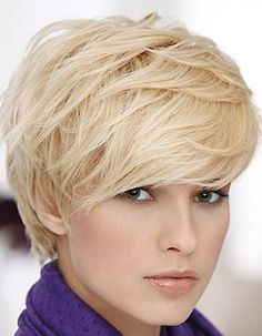 Short Layered Hairstyles | Picture of Layered Pixie Cut, Short Hair for Women/ short-haircut