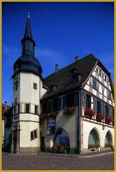 16th century Hôtel de Ville, Benfeld ~ Bas-Rhin