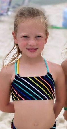 Busby Family, Little Girl Swimsuits, Bikinis, Swimwear, Little Girls, People, Fashion, Bathing Suits, Moda