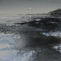 Available Paintings — naomi tydeman RI Watercolor Artists, Watercolor Landscape, Abstract Watercolor, Abstract Landscape, Watercolor Paintings, Abstract Art, Collage Landscape, Landscape Paintings, Beach Watercolor