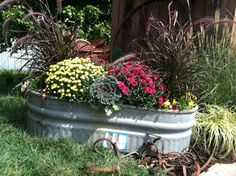 Galvanized Planters Design Ideas, Pictures, Remodel, and Decor - page 4
