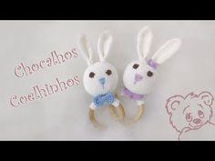 Chocalhos Coelhinhos - Parte 2 - YouTube Crochet Symbols, Crochet Patterns, Baby Blanket Crochet, Crochet Baby, Baby Rattle, Crochet Projects, Baby Gifts, Creations, Bunny