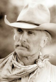 Gus... such perfect casting in that show! If you haven't read Lonesome Dove, don't wait. It's a great book.