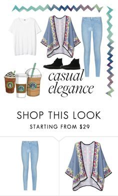 """""""casual elegance"""" by cloudykit ❤ liked on Polyvore featuring Mode, 7 For All Mankind, Cotton Candy, Converse, women's clothing, women's fashion, women, female, woman und misses"""