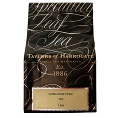 Taylors of Harrogate China Rose Petal Tea is China Congou black leaf tea layered with pink rose petals for a mellow, sweet-tasting tea with a wonderfully perfumed aroma.Shop high quality teas with Brands of Britain today. National Iced Tea Day, English Breakfast Tea, Breakfast Time, Rich Tea, Tea Brands, Tea Infuser, Loose Leaf Tea, Sweet Tea, Tea Recipes