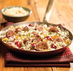 al fresco ® Mediterranean Skillet Made this and it was delish! Pinning to share and keep for another time.