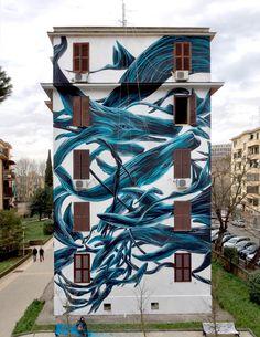 Pantonio - Rome / http://streetartist.de/2015/03/19/news-from-pantonio/