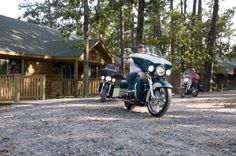 Motorcyclists and guests from all over love our untouched Ouachita scenery. Our winding roads, lake vistas, and rolling hills provide you with lovely views of Arkansas.