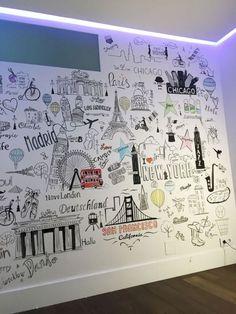 Diy wall decor 391250286378647980 - DIY Luscious Wall Decor Ideas Source by letsflyawaybr Travel Wall Decor, Diy Wall Decor, Bedroom Decor, Home Decor, Wall Decorations, Decor Crafts, Nursery Decor, Diy Wand, Panneau Mural 3d