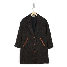 french trotters - Léa Coat Black/Rust - LOVE THIS SO MUCH