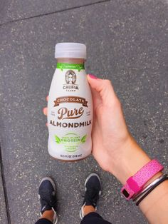 Almondmilk protein is the best post-workout refreshment!