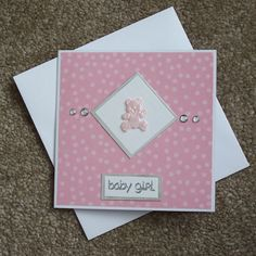 Handmade New Baby Card-image only                                                                                                                                                                                 More
