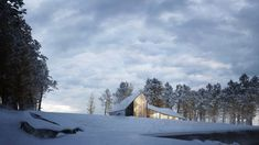 Winter House / Sergey Makhno Architects – nowoczesna STODOŁA | wnętrza & DESIGN | projekty DOMÓW | dom STODOŁA