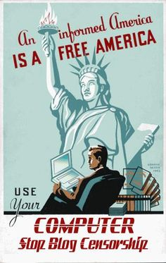 An Informed America is a Free America. CENSORSHIP IS OPPRESSION!!