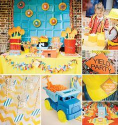 Clever  Bright Construction Birthday Bash! http://hwtm.me/W3Ub0z