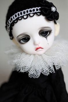 Doll*icious Beauty ❀ :: Modern Clown Pierrot Doll - by Aya_27