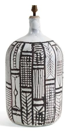 Unique, Efficient and Good Design Desk Lamps to Light Your Interior - Glazed Ceramic, Ceramic Clay, Ceramic Pottery, Pottery Art, Ceramic Lamps, Ceramic Table, Roger Capron, Ceramic Workshop, Lighting Concepts