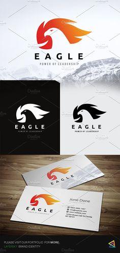Eagle Logo by Vectorwins Premium Shop on @creativemarket