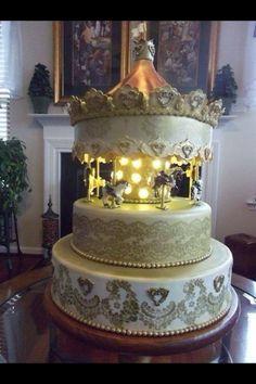 Amazing Carousel Cake.