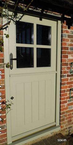 painted stable door available in other woods and colours made to measure