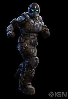 """Clayton """"Clay"""" Carmine, Gear de las Fuerzas Armadas de la Coalición de Gobiernos Ordenados..."""