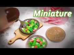 미니어쳐 샐러드 만들기 Miniature * Salad - YouTube