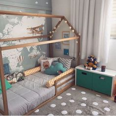 Best Ideas for baby bedroom boy montessori Baby Bedroom, Baby Boy Rooms, Kids Bedroom, Boys Bedroom Furniture, Bedroom Decor, Bedroom Ideas, Find Furniture, Plywood Furniture, Bedroom Designs