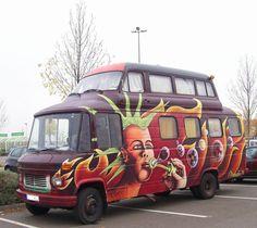 camion / bus aménagé