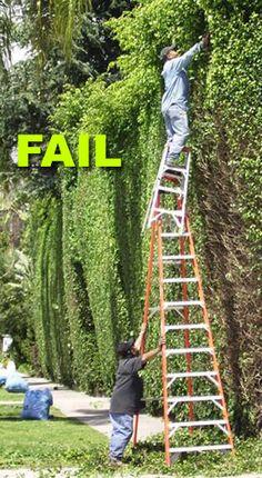 ladder fail...