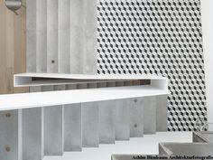Articima Zementfliesen 360 Cement, Concrete, Tiles, Flooring, Loft, Interior Design, Woods, 3d, Grey And White