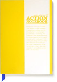 Yellow Action Notebook
