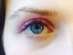 ChromaStack pale purple/black Volume Lashes