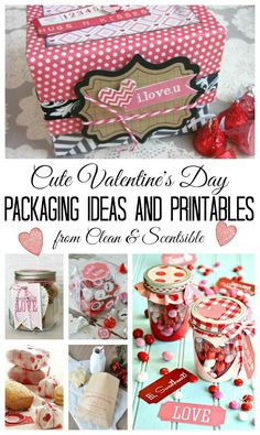 Valentine's Day packaging ideas and printables.- Valentine's Day packaging ideas and printables. Valentines Day Package, Valentines Day Food, Homemade Valentines, Valentine Day Love, Valentine Day Crafts, Valentine Decorations, Holiday Crafts, Holiday Fun, Printable Valentine