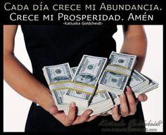 Afirma: Me conecto con la Abundancia Universal. Me abro a la Prosperidad. Merezco Riqueza y Felicidad…Sigue LEYENDO haciendo CLIC en la FOTO