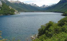 Lago Berta, Corcovado, Chubut. www.turismoruta40.com.ar/corcovado.html