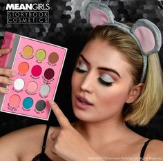 Tell me this is not the MOST heart-warming, nostalgic makeup item you've ever seen. I dare you. In case you are not a true Mean Girls fan, let me fill you in -Storybook Cosmetics is launching probablyyyyyy one of our most favorite themed palettes so far, theBurn Book Eyeshadow Palette on Wednesday, 11.01! That's right - the BURN BOOK!
