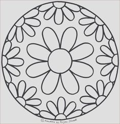 Frisch Malvorlagen I Love You #Malvorlagen #Malvorlagenkostenlos Mandala Art, Mandala Design, Stencils Mandala, Mandala Drawing, Stained Glass Patterns, Mosaic Patterns, Mandala Coloring, Colouring Pages, Jaguar Tier