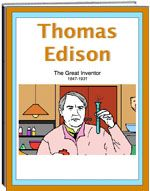Thematic Unit - Thomas Edison - Thomas Edison was a great American inventor. Children learn about his boyhood, adulthood, odd jobs, and his many, many experiments. The unit includes: criss cross, word finds, spelling, multiple choice and more.