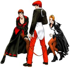 Yagami Team from The King of Fighters '98: Ultimate Match