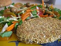 Mis Recetas Anticáncer: Hamburguesas Vegetales Recetas Anticancer, Meatloaf, Grains, Rice, Beef, Chicken, Health, Kitchen, Food