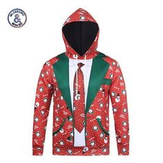Buy New Fashion Hooded christmas Hoodies Men/Women Autumn Winter Tops Thin Style Paint Sweatshirts Unisex Pullovers Sports Hoodies, Cool Hoodies, Hoodie Sweatshirts, Hip Hop, 3d Christmas, Christmas Hoodie, Christmas Sweaters, Christmas Carnival, Christmas Clothing