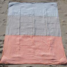 Beach Blanket 90x55 Orange I, $199,  by Brooklyn Beach !!